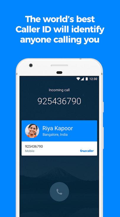 1 Truecaller Caller ID SMS spam blocking Dialer Premium