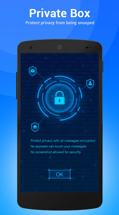 1 TextU Pro Private SMS Messenger