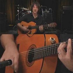 فیلم آموزش گیتار فلامنکو ریتم رومبا