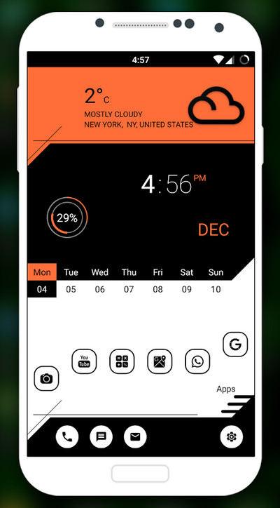 دانلود Vintage Launcher 2018 - Theme, Fast Simple UI - تم لانچر زیبا اندروید