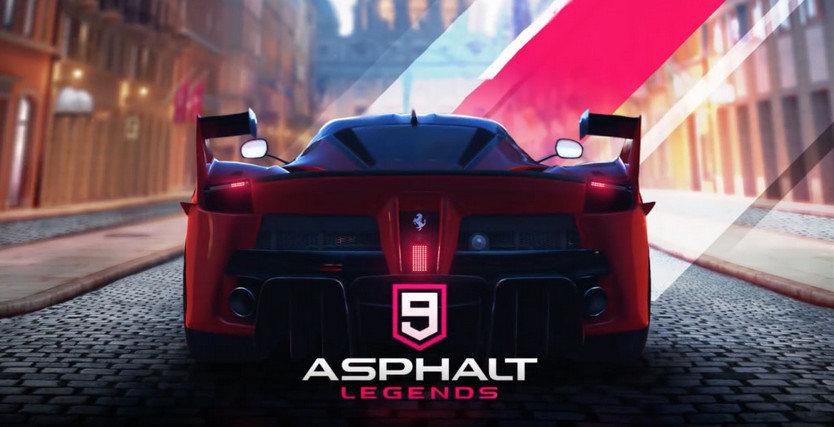 دانلود Asphalt 9: Legends 2019  - بازی اتومبیل رانی آسفالت 9  اندروید + دیتا