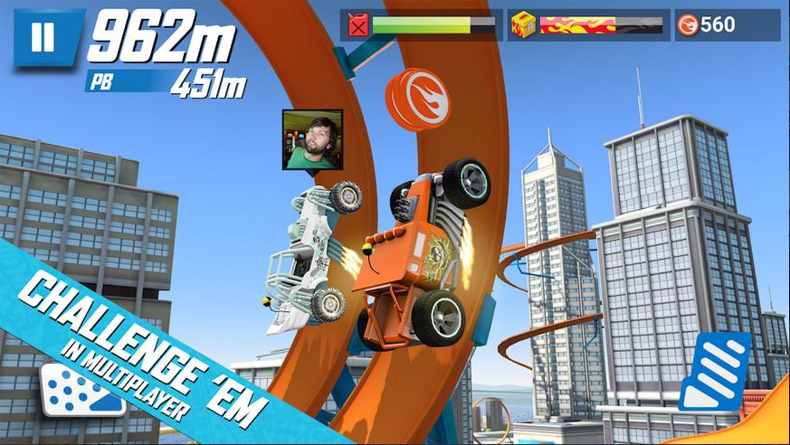 دانلود Hot Wheels Race Off 1.1.11275 - بازی داغ و همراه با شور و هیجان اندروید + مود