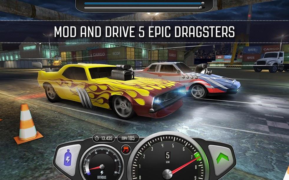 دانلود Top Speed: Drag & Fast Racing v1.25.1 بازی درگ سرعتی و شگفت انگیز اندروید + مود