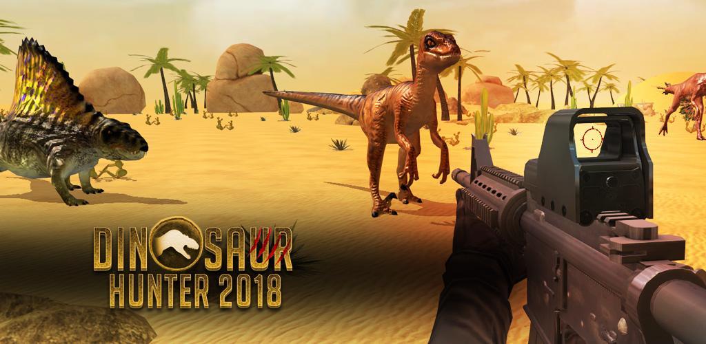 دانلود Dinosaur Hunter 2018 v2.6 بازی اکشن شکارچی دایناسور  اندروید + مود