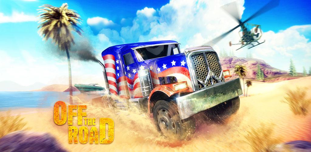 دانلود Off The Road – OTR Open World Driving v1.2.3 بازی رانندگی با کامیون اندروید + مود + دیتا