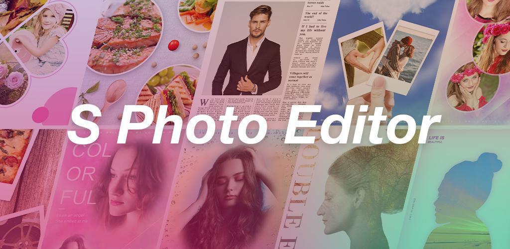 دانلود S Photo Editor – Collage Maker v2.44 ویرایشگر حرفه ای تصاویر اندروید