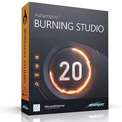 دانلود Ashampoo Burning Studio 20 Build - نرم افزار رایت CD, DVD