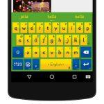 دانلود iKeyboard – emoji,emoticons v4.8.2.300047 صفحه کلید پرکاربرد و فوق العاده اندروید
