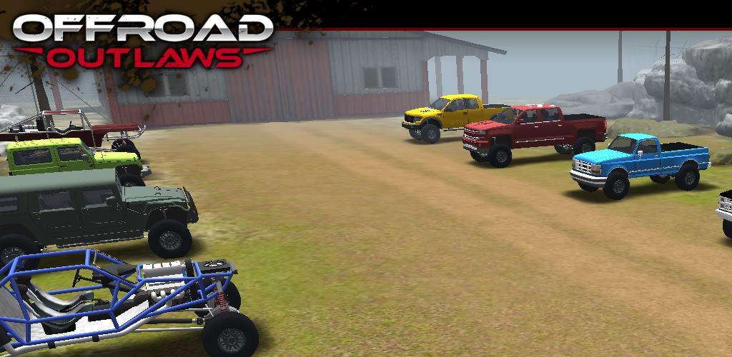 دانلود Offroad Outlaws v2.5.1 بازی ماشین سواری هیجان انگیز اندروید + مود