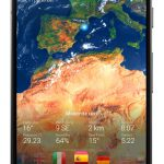 دانلود 3D Earth Pro – Weather Forecast, Radar & Alerts UK اپلیکیشن سه بعدی هواشناسی مخصوص اندروید!