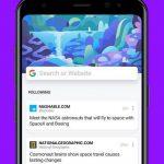 دانلود Cake Web Browser—Fast, Private, Ad blocker, Swipe - مرورگر پر امکانات کیک برای اندروید