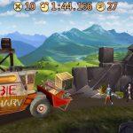 دانلود Death Climb Racing-Popular walking ZOMBIE road war بازی ریسنگ صعود مرگبار اندروید + مود
