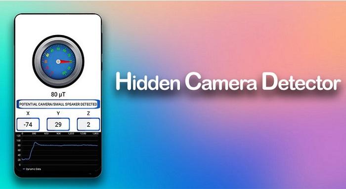 دانلود Detect Secret Hidden Camera v1.2 _ آشکار ساز دوربین مخفی اندروید