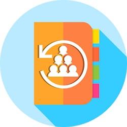 دانلود Easy Contacts Backup & Restore – Export Contacts v1.0 برنامه پیشتیبان گیری مخاطبین اندروید