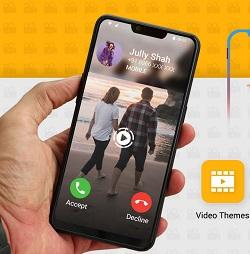 دانلود Full Screen Video Ringtone : Color Phone Flash v1.1 - برنامه ویدئو تماس تمام صفحه اندروید