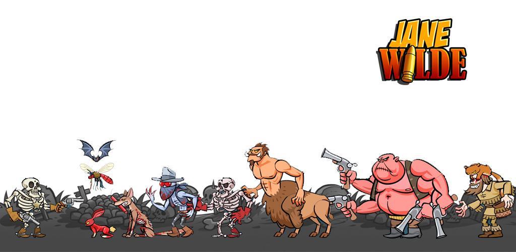 """دانلود Jane Wilde: Wild West Undead Arcade Shooter v2.250 بازی اکشن و هیجان انگیز """"جین وایلد"""" اندروید + نسخه مود"""