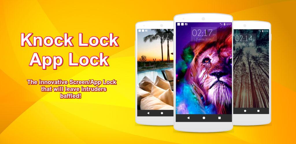 دانلود Knock lock screen – Applock برنامه قفل نوآورانه صفحه نماش اندروید