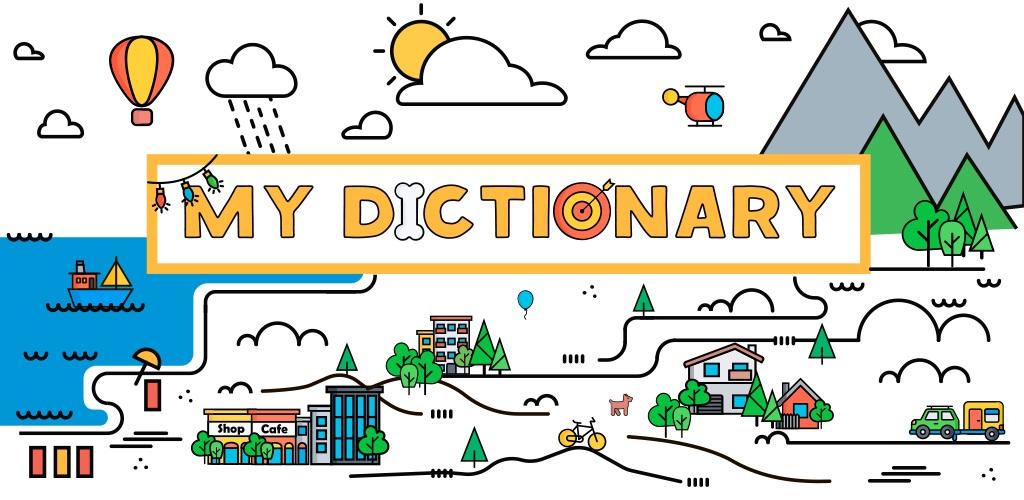 دانلود My Dictionary: polyglot برنامه آموزش زبان خارجه اندروید