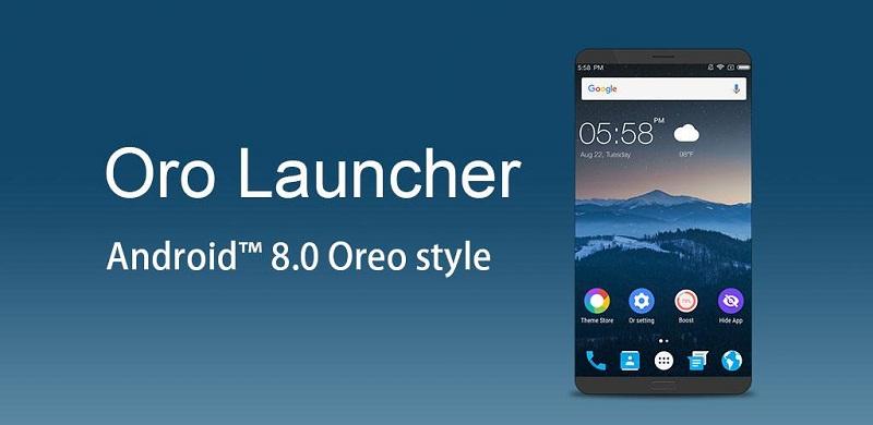 دانلود Oro Launcher – Launcher with Android O 8.0 Oreo لانچر سریع اندروید هشت!
