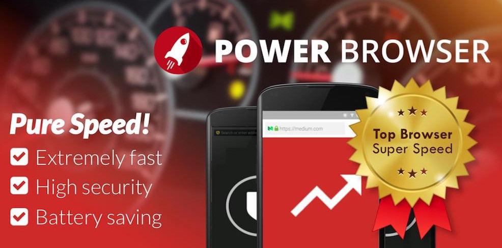 Power Browser Fast Internet