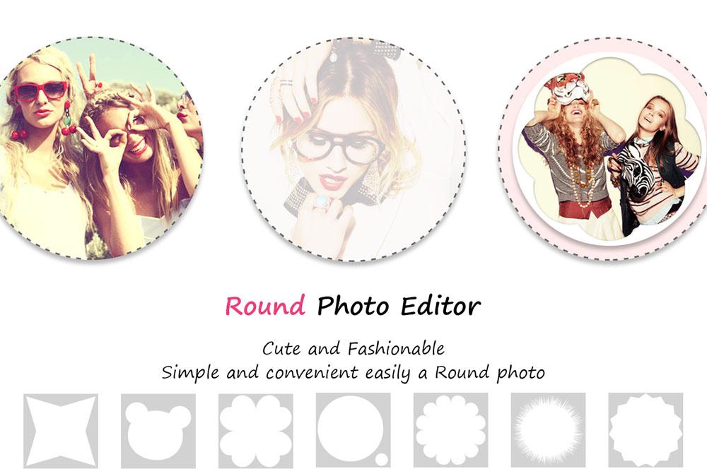 دانلود Round Photo Editor برنامه ویرایشگر دایره ای تصاویر مخصوص اندروید