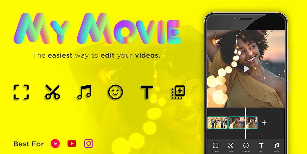 Video Editor for Youtube, Music – My Movie Maker