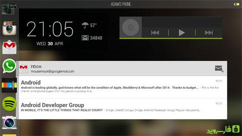"""دانلود Voxis Launcher v0.18 لانچر بسیار زیبای """"ووکسیس"""" اندروید"""