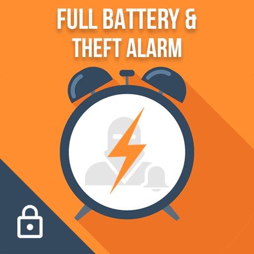 دانلود Full Battery Alarm & Theft Alarm v5.0 – اپلیکیشن هشدار پر شدن باتری و سرقت اندروید