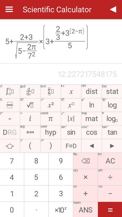 1 Scientific Calculator
