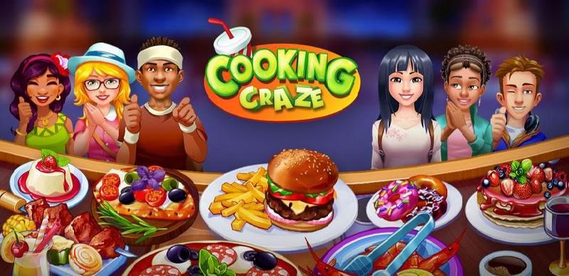 دانلود Cooking Craze - بازی آشپزی دیوانه وار اندروید