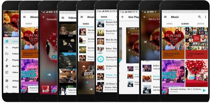 دانلود IMusic Player  - نرم افزار موزیک پلیر با کیفیت اندروید