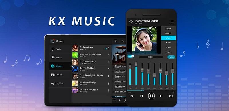 دانلود KX Music Player Pro برنامه پخش موزیک پلیر کا ایکس برای اندروید