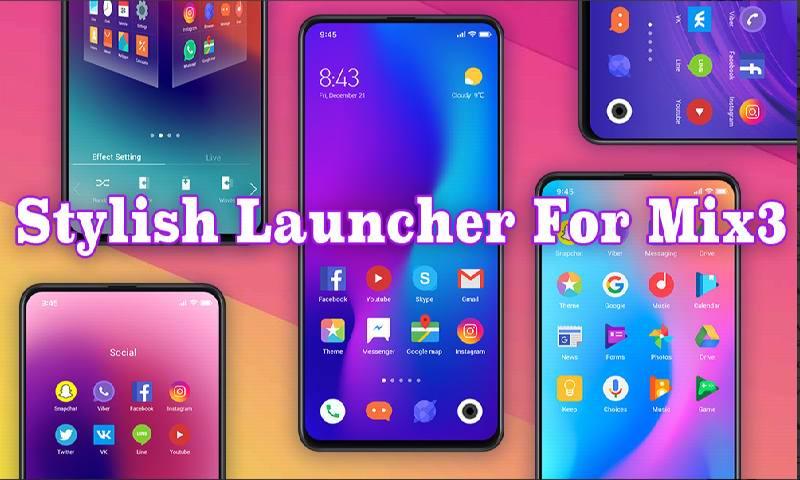 دانلود MIX Launcher 2019 - برنامه میکس لانچر اندروید