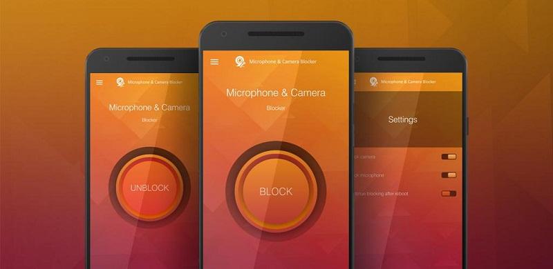 دانلود Microphone & Camera Blocker Premium نرم افزار امنیتی و مسدود سازی دوربین های اندروید!