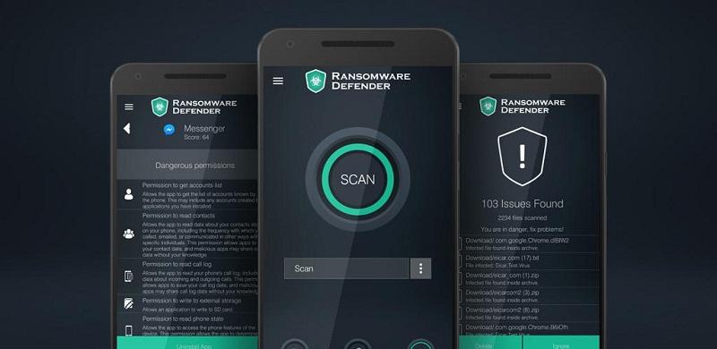 دانلود Ransomware Defender Premium نرم افزار شناسایی باج افزارها و حذف آن ها برای اندروید