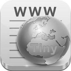 دانلود Tiny Web Browser v1.1 – برنامه مرورگر وب کم حجم اندروید!