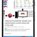 دانلود VirusTotal Mobile نرم افزار بررسی موبایل و شناسایی سریع بدافزارها برای اندروید