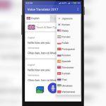 دانلود Voice Translator نرم افزار مترجم صوتی اندروید