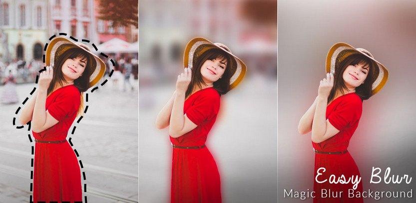 دانلود Blurfoto : Auto blur photo background & DSLR focus - برنامه تارکردن پس زمینه عکس اندروید