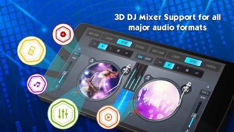 دانلود DJ Mixer 2019 - 3D DJ App - برنامه دی جی میکسر 2019 اندروید