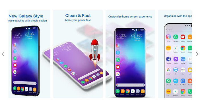 Launcher Galaxy S10 Style 8