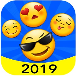 دانلود 4.4 New 2019 Emoji for Chatting Apps  – برنامه ایموجی و استیکر 2019 اندروید
