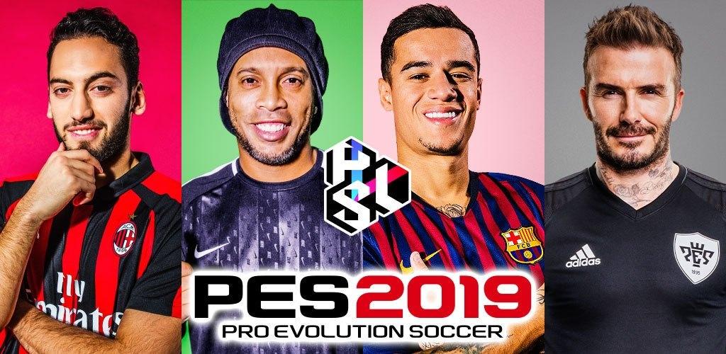 PES 2019 PRO EVOLUTION SOCCER Cover b