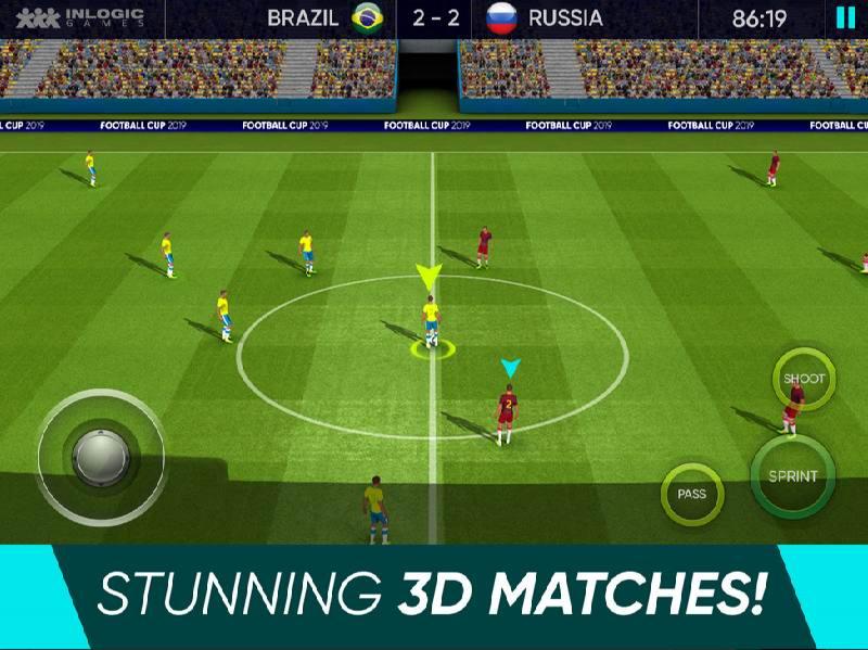 دانلود Soccer Cup 2019 - بازی فوتبال سوکر کاپ 2019 اندروید