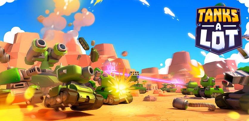 دانلود Tanks A Lot! - Realtime Multiplayer Battle Arena - بازی اکشن نبرد تانک ها اندروید