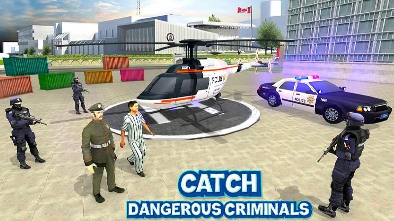 US City Police Car Prisoners Transport 1 1