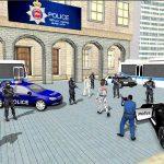US City Police Car Prisoners Transport 2