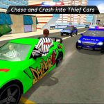 US City Police Car Prisoners Transport 4