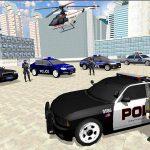 US City Police Car Prisoners Transport 5