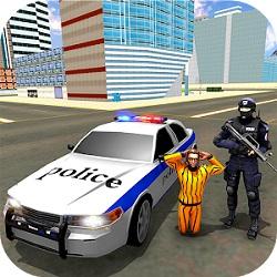 دانلود 1.1 Cover art US City Police Car Prisoners Transport – بازی فرار زندانی از دست پلیس آمریکا